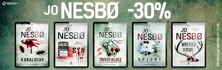 Jo Nesbo -30% na Nexto.pl