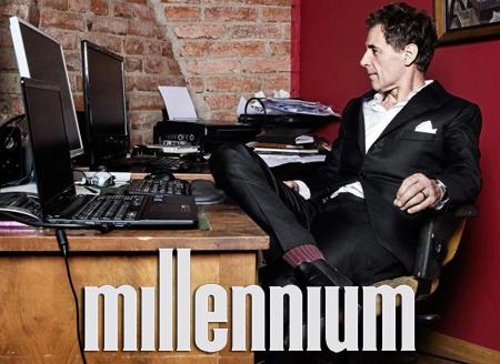 David Lagercrantz o Millennium 5