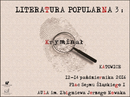Literatura Popularna 3: Kryminał
