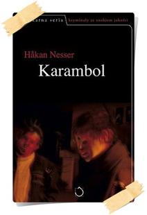 Håkan Nesser:Karambol (wydanie pierwsze, Santorski & CO, 2004)