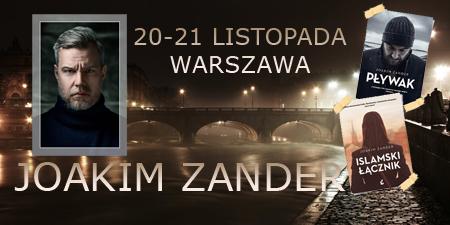 Joakim Zander w Polsce