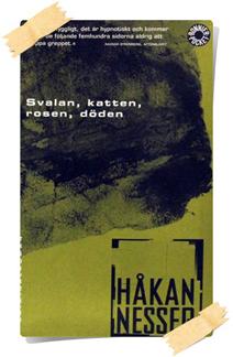 Håkan Nesser:Svalan, katten, rosen, döden