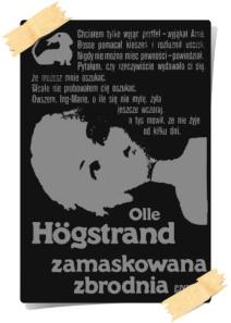 Olle Högstrand: Zamaskowana zbrodnia